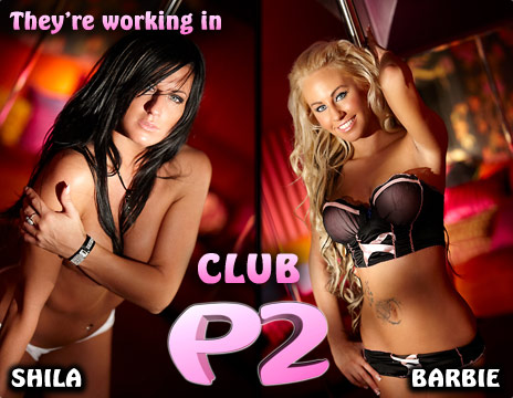 Nice girls at Club P2